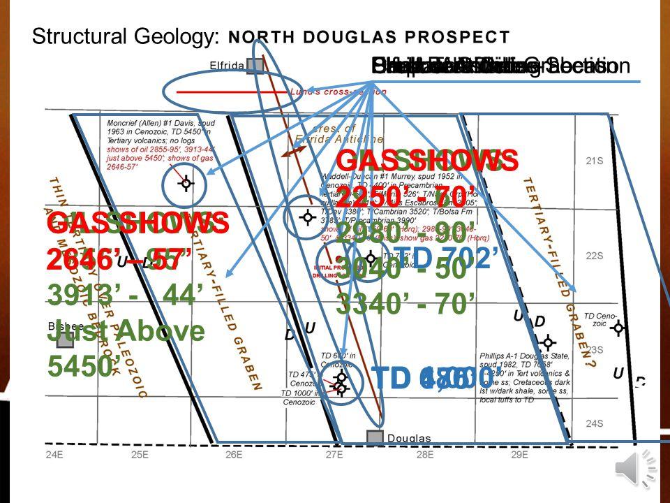 www.AZOilGas.com OIL SHOWS: 1950' - 60' 2980' - 90' 3040' - 50'