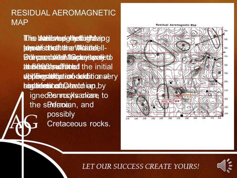 RESIDUAL AEROMAGNETIC