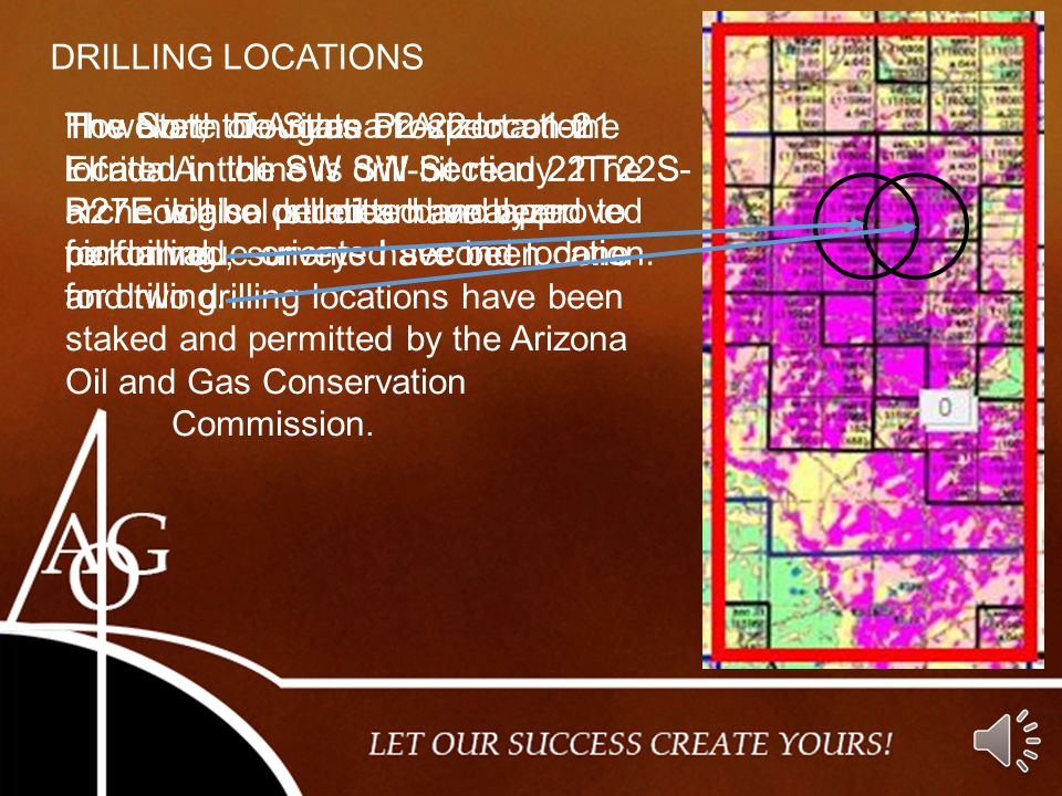 DRILLING LOCATIONS