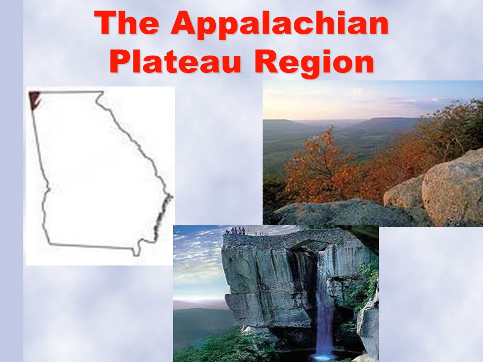 The Appalachian Plateau Region