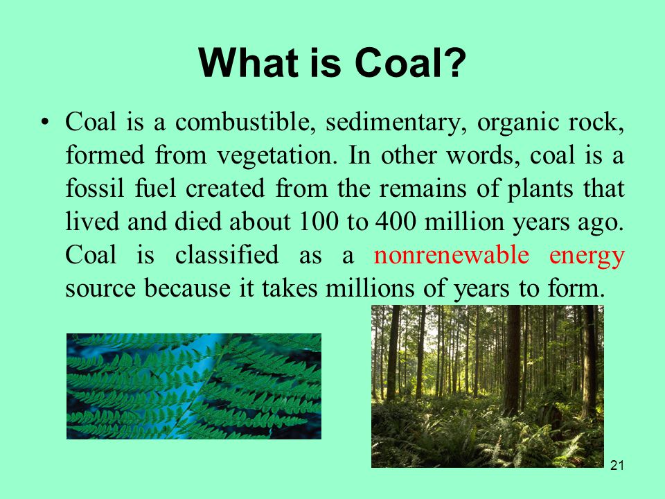 What is Coal