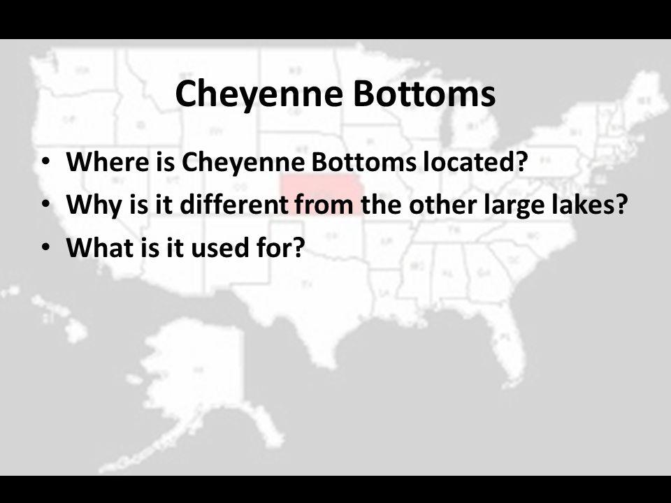 Cheyenne Bottoms Where is Cheyenne Bottoms located