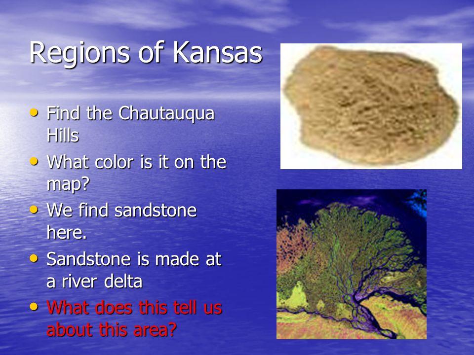 Regions of Kansas Find the Chautauqua Hills