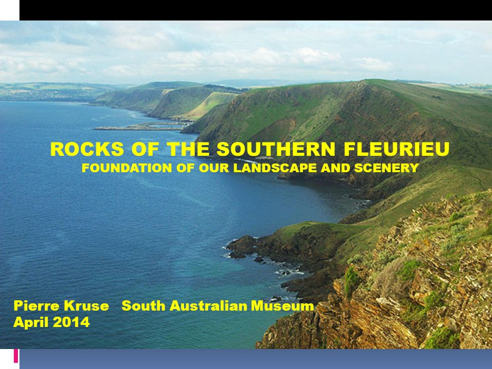 ROCKS OF THE SOUTHERN FLEURIEU