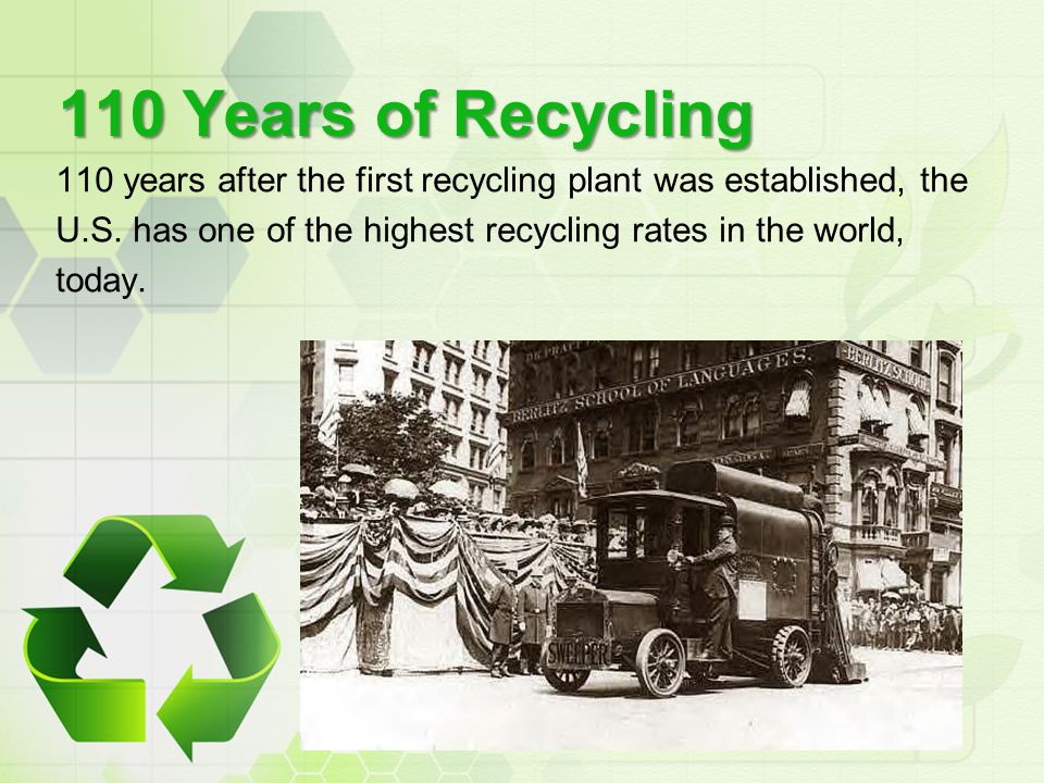 110 Years of Recycling