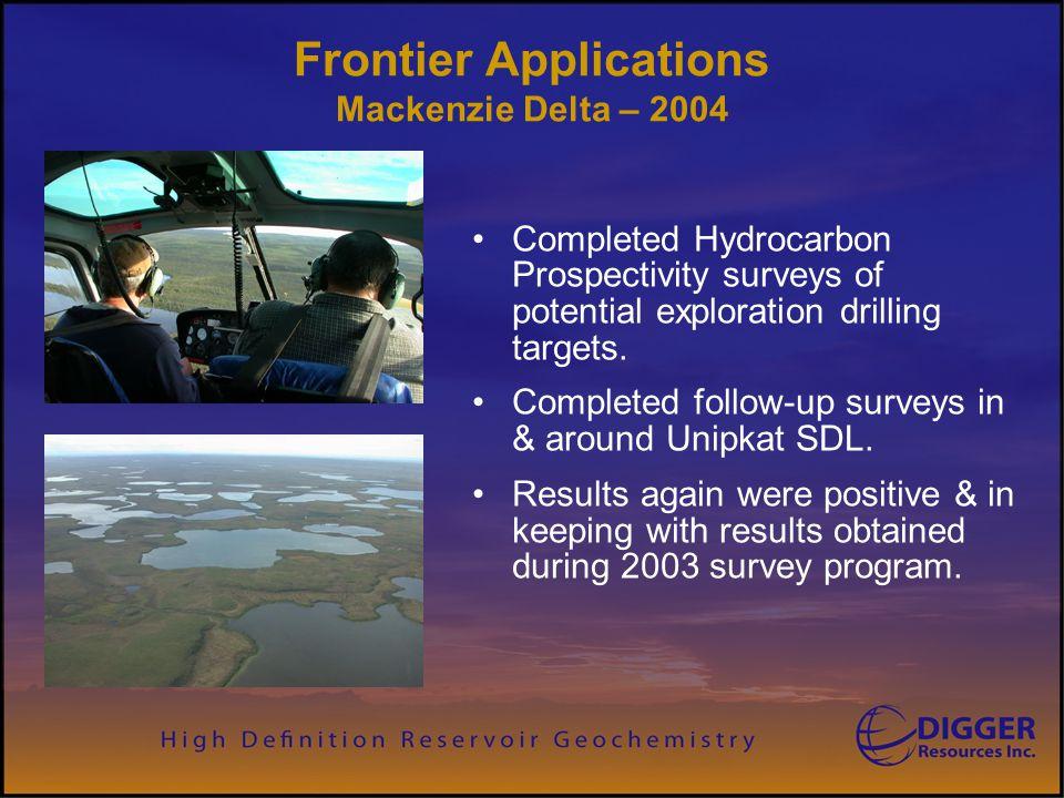 Frontier Applications Mackenzie Delta – 2004
