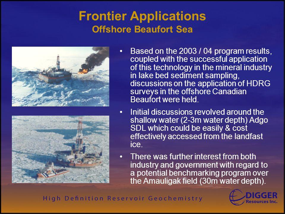 Frontier Applications Offshore Beaufort Sea