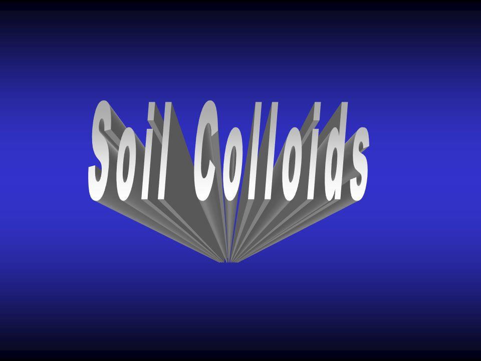 Soil Colloids 43. SOIL COLLOIDS