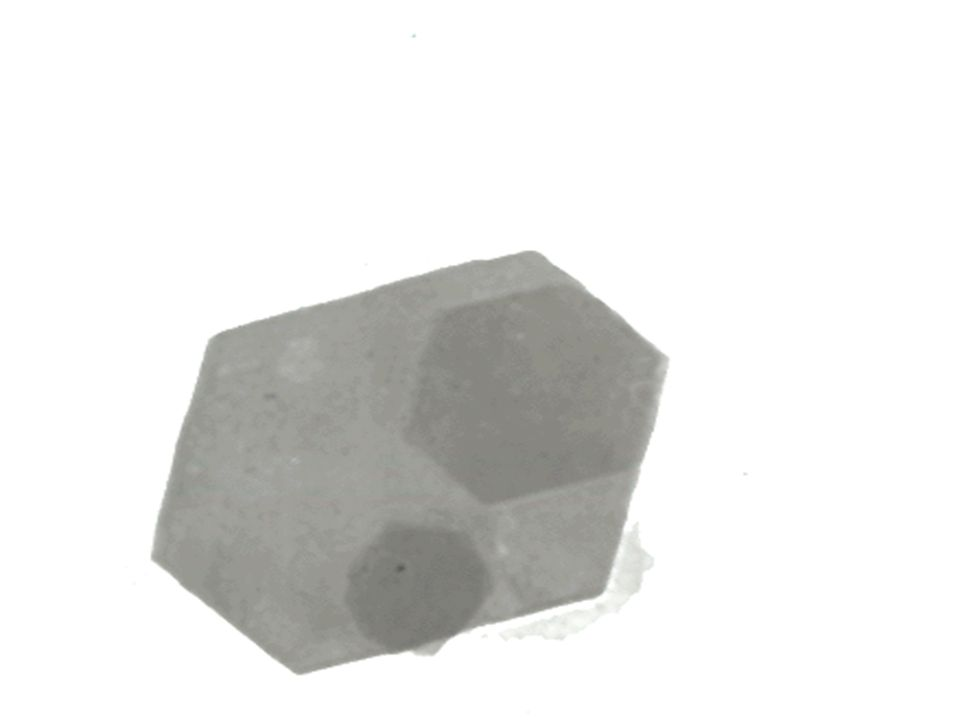 45. This slide shows an electron micrograph of a kaolinite particle