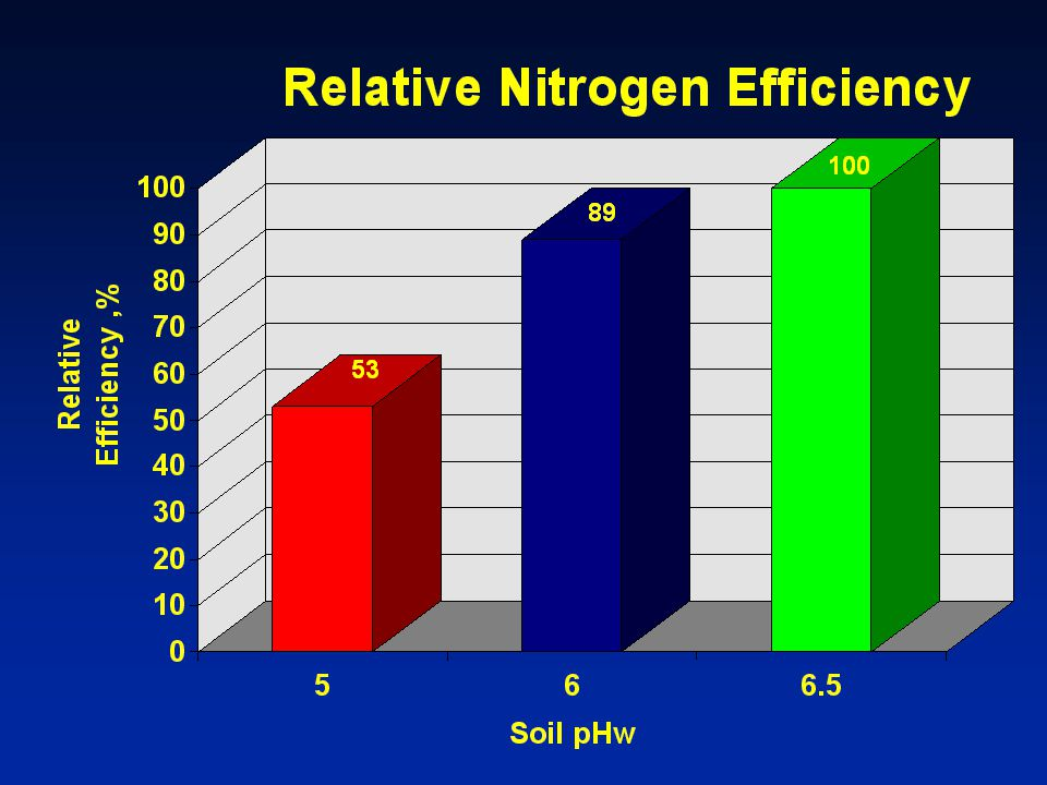 64. We saw earlier that pH affects nutrient availability in soils
