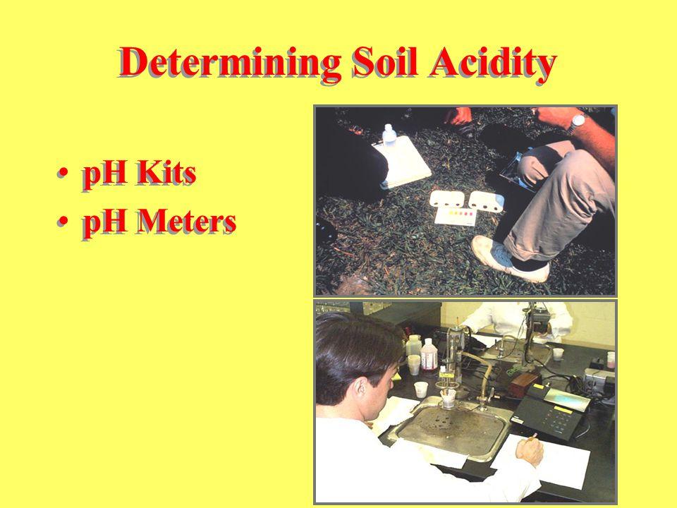 Determining Soil Acidity