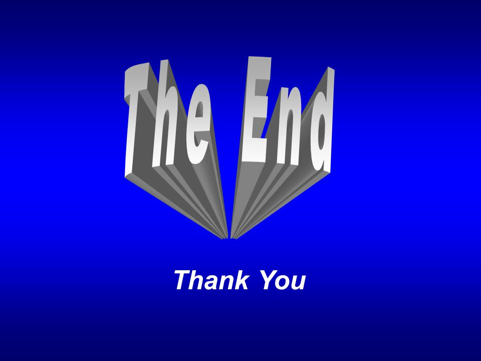 Thank You The End 83. DISCUSSION QUESTIONS