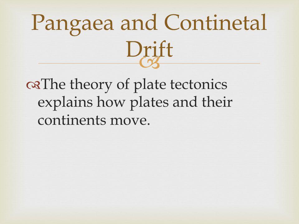 Pangaea and Continetal Drift