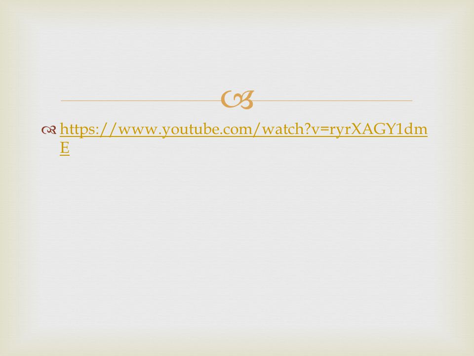 https://www.youtube.com/watch v=ryrXAGY1dmE