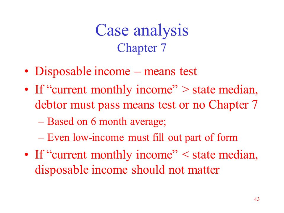 Basic Bankruptcy How to file a case. - ppt download