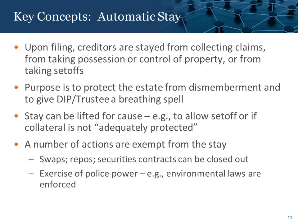 Key Concepts: Who Trumps Whom – Priority Scheme in Bankruptcy – Claims and Interests