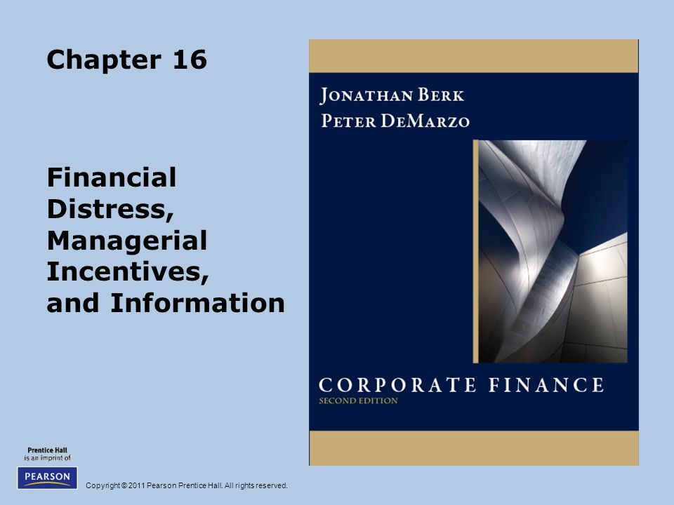 Financial Distress, Managerial Incentives, and Information