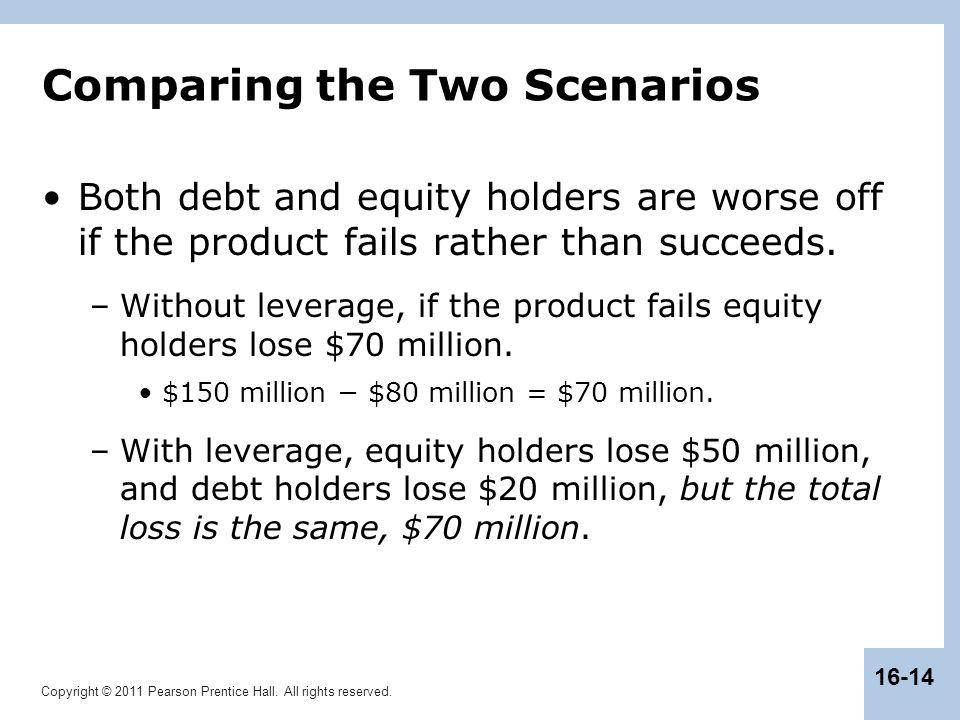 Comparing the Two Scenarios