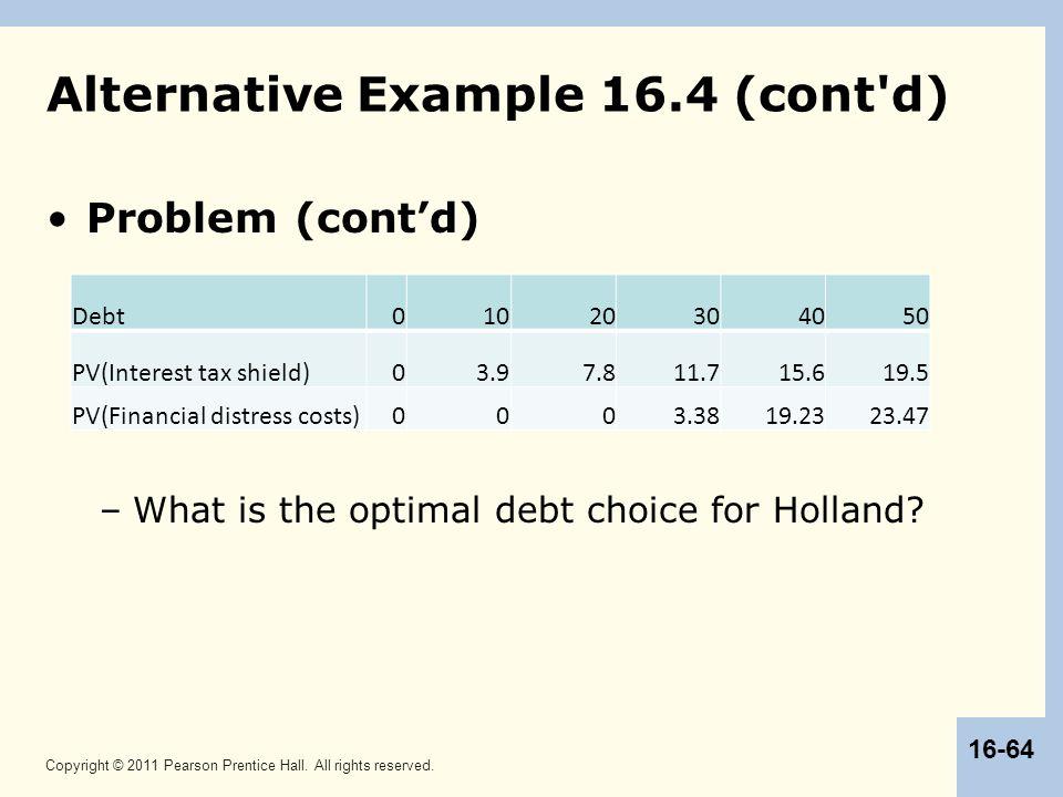 Alternative Example 16.4 (cont d)