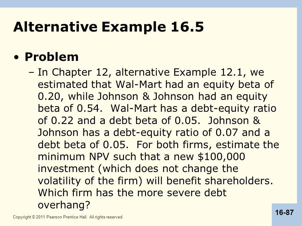 Alternative Example 16.5 Problem