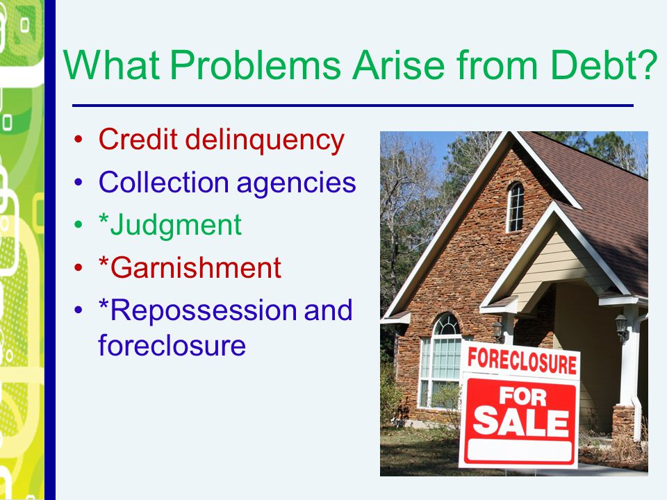 What Problems Arise from Debt