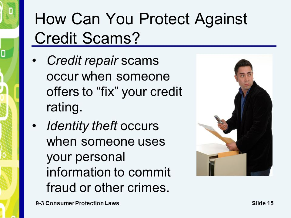 How Can You Protect Against Credit Scams