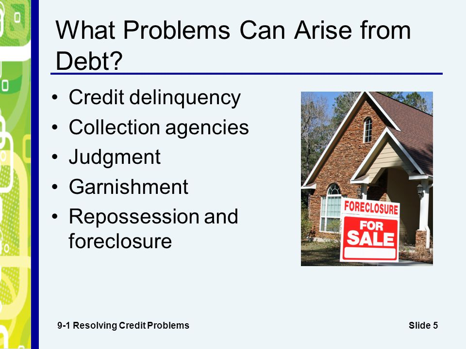 What Problems Can Arise from Debt