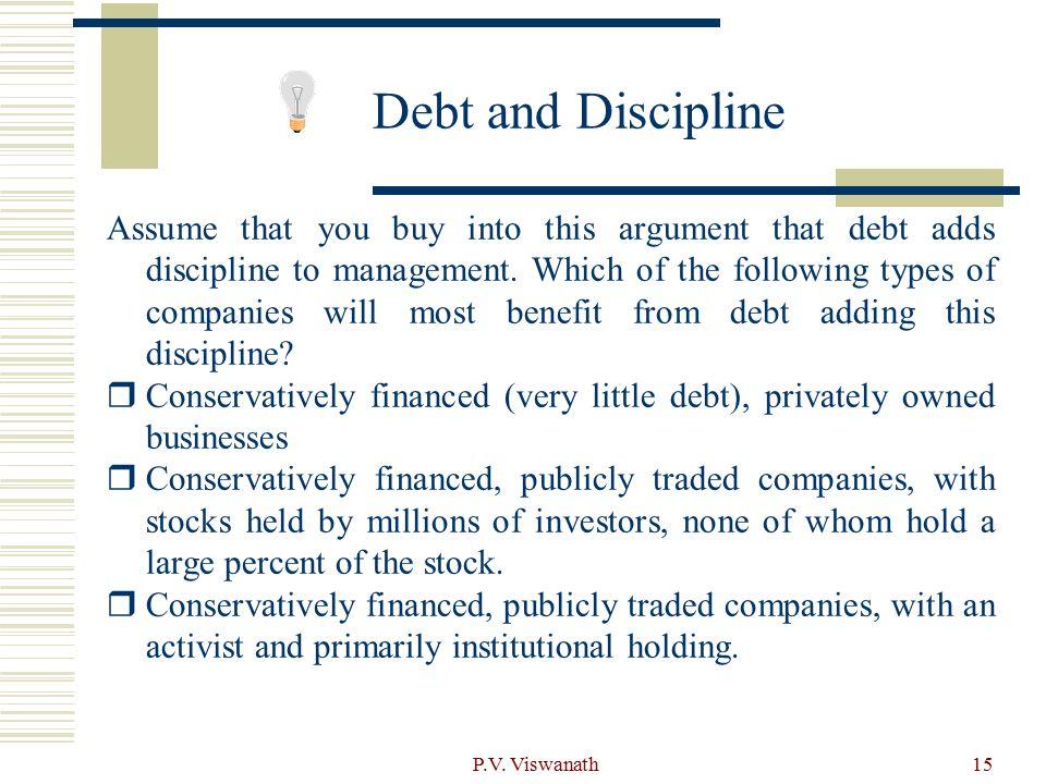 Debt and Discipline