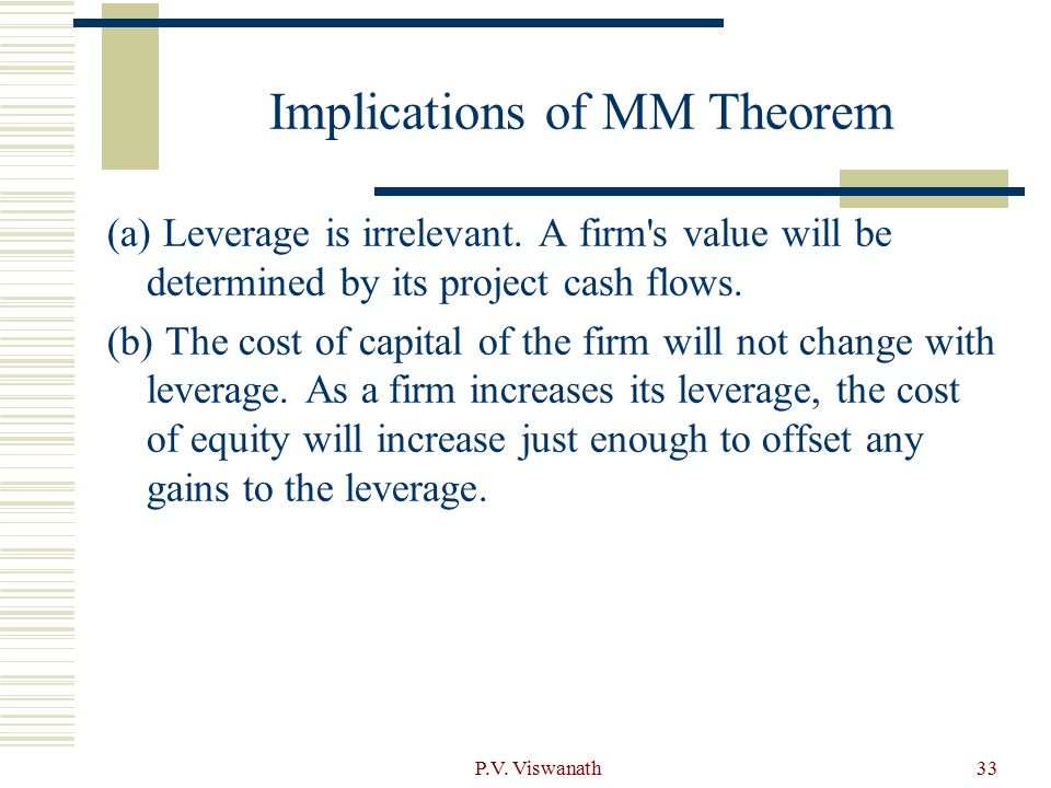 Implications of MM Theorem