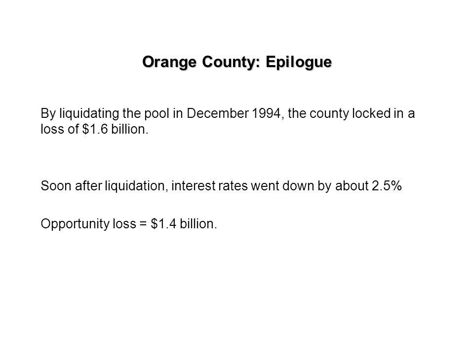 Orange County: Epilogue