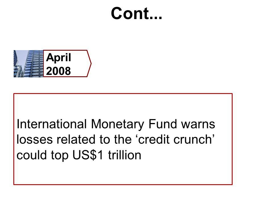 Cont... April 2008.