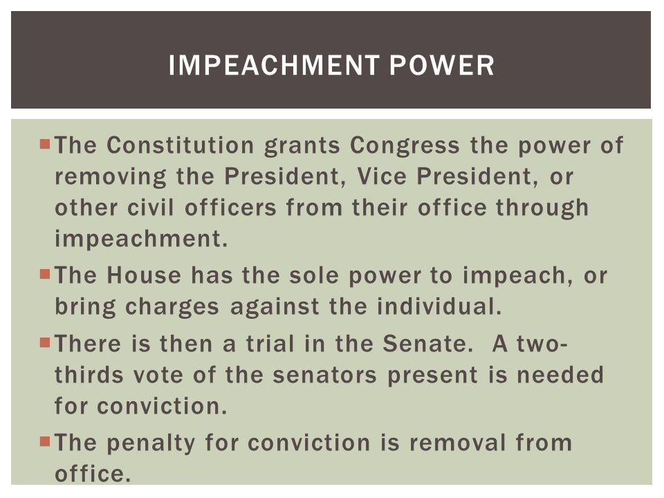 Impeachment Power