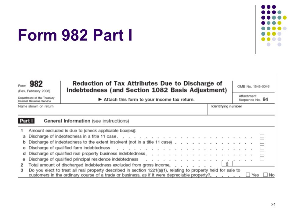 Insolvency Cpa Explains Cancellation Of Debt Irs Form 33677
