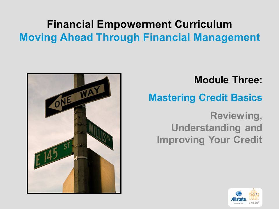 Financial Empowerment Curriculum Moving Ahead Through Financial Management