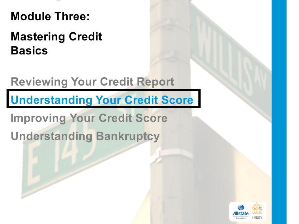 Mastering Credit Basics