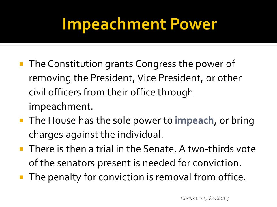 Impeachment Power
