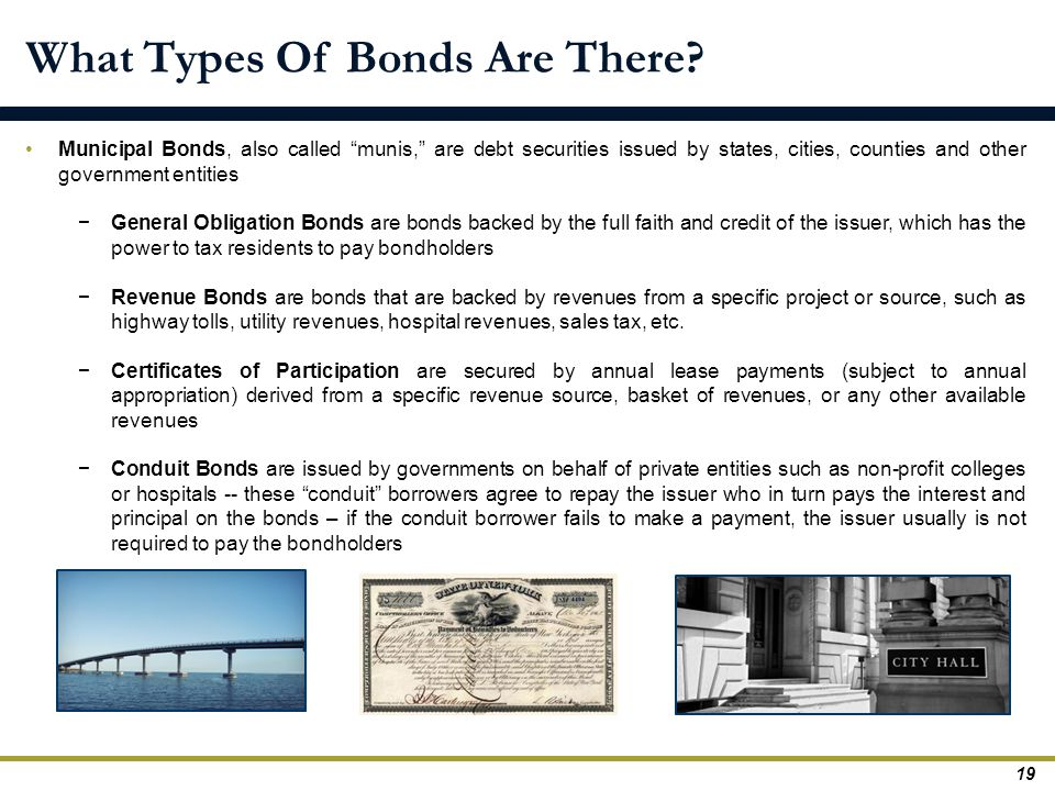 What Types Of Bonds Are There