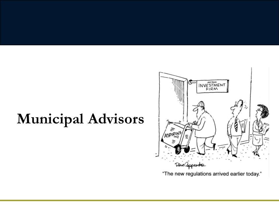 Municipal Advisors