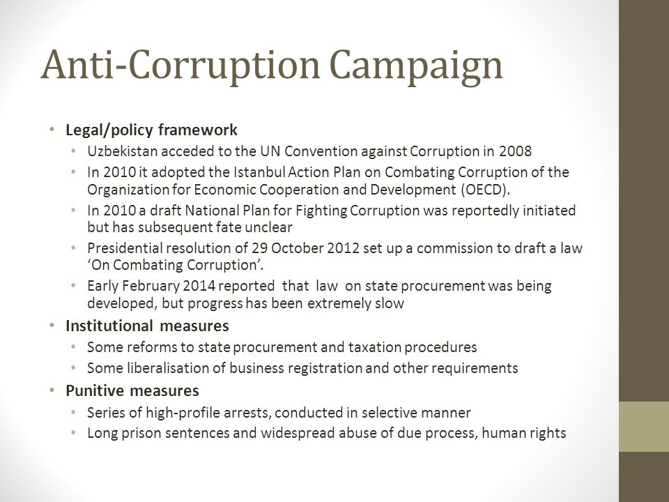 Anti-Corruption Campaign