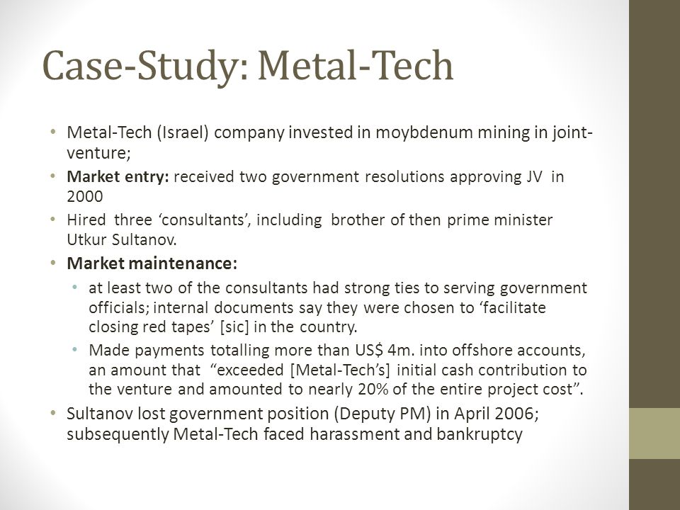 Case-Study: Metal-Tech