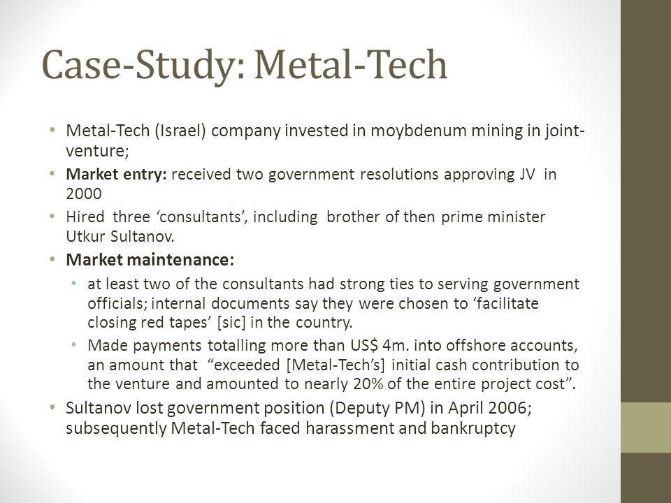 Case-Study: Metal-Tech