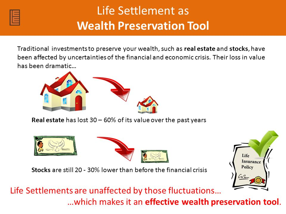 Life Settlement as Wealth Preservation Tool