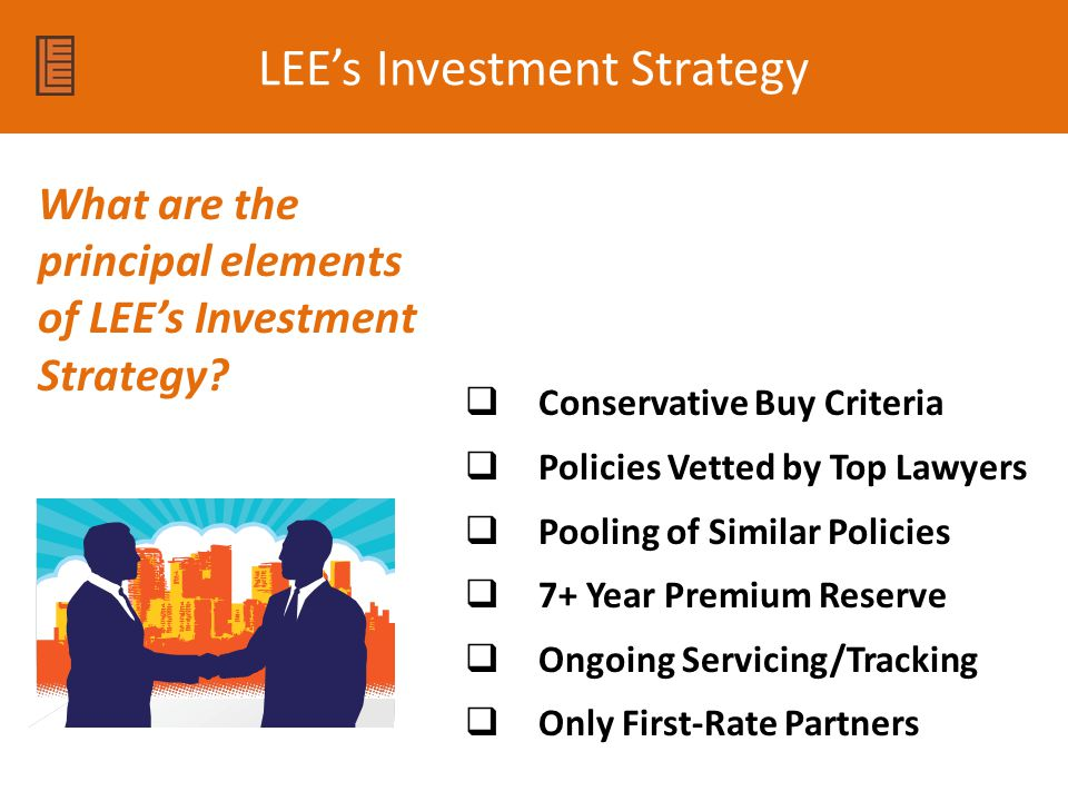 LEE's Investment Strategy