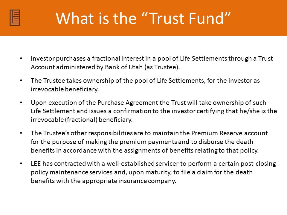 What is the Trust Fund