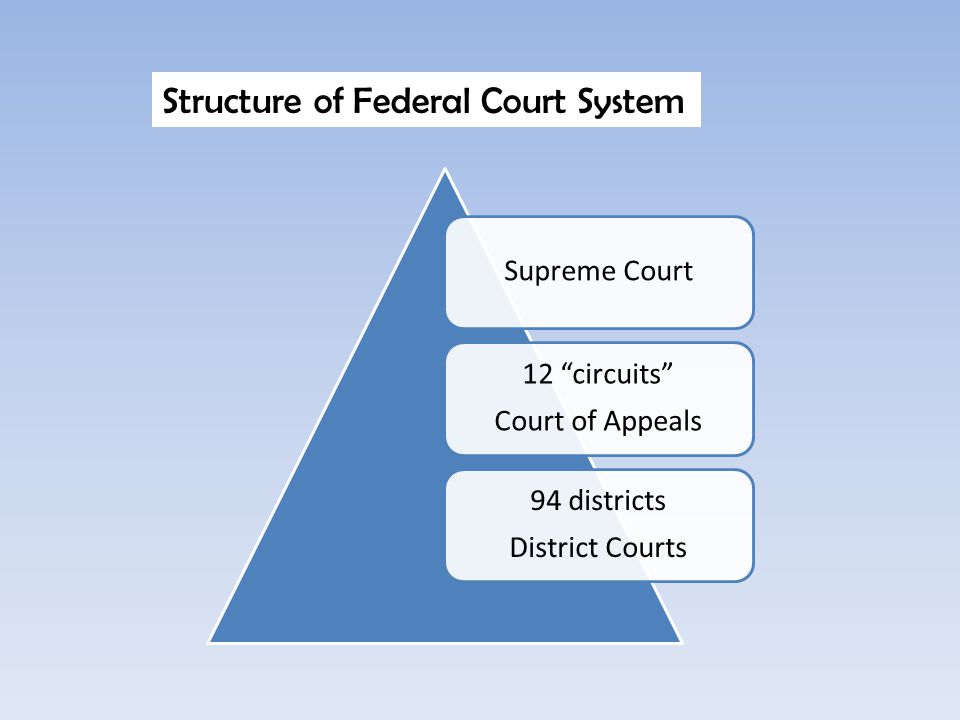 Structure of Federal Court System