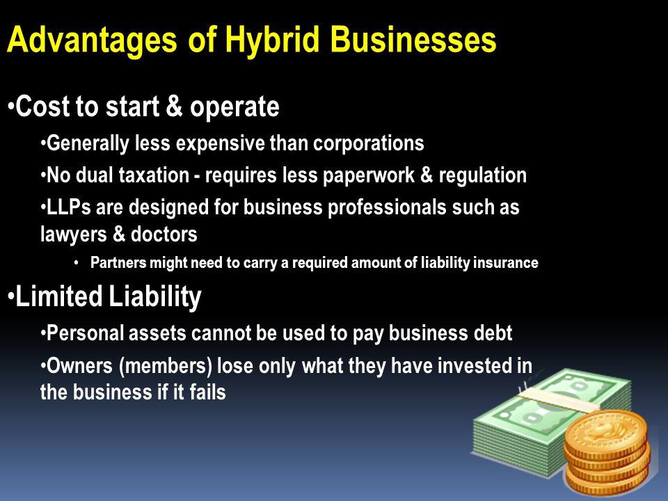 Advantages of Hybrid Businesses