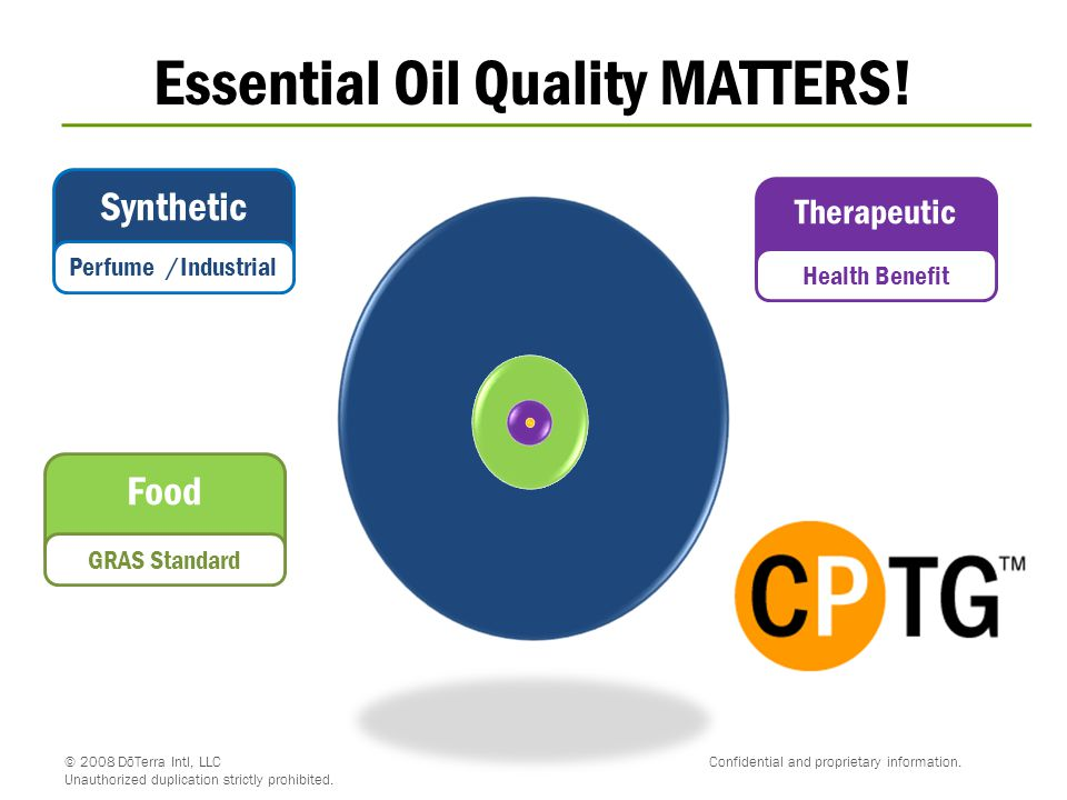 Essential Oil Quality MATTERS!