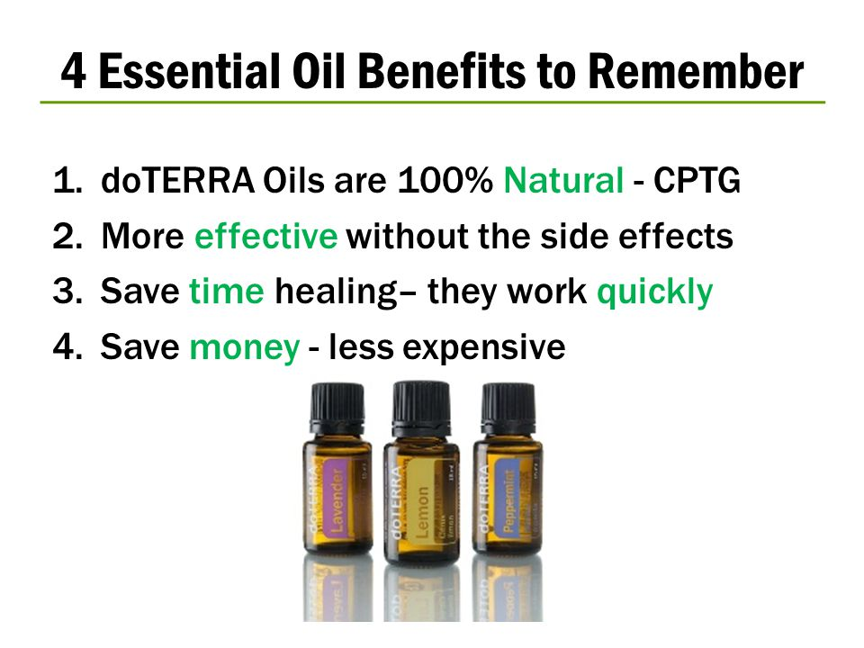4 Essential Oil Benefits to Remember