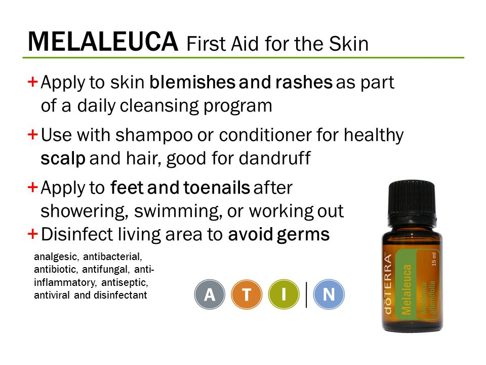 MELALEUCA First Aid for the Skin