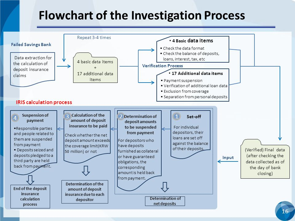 Flowchart of the Investigation Process